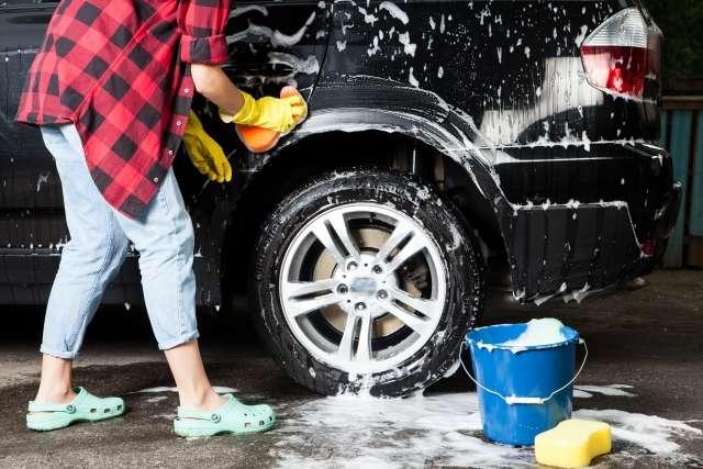 洗車キズ ワックスキズ 塗装面 キズ