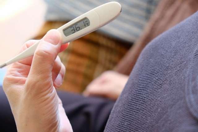 体温測定 スマートウォッチ
