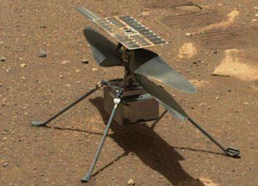 火星ヘリコプター ingenuity